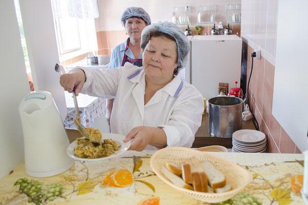 Организация детского питания в больнице