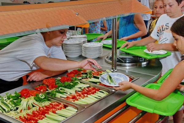 организация питания в детском лагере