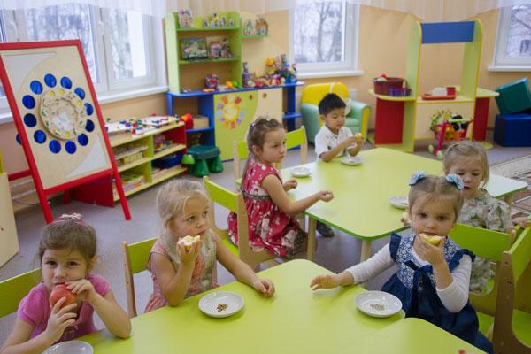 Работа по организации питания в детском саду