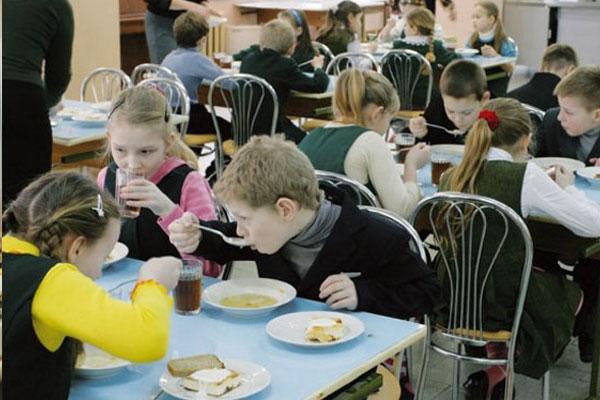 организация питания детей в детских дошкольных учреждениях