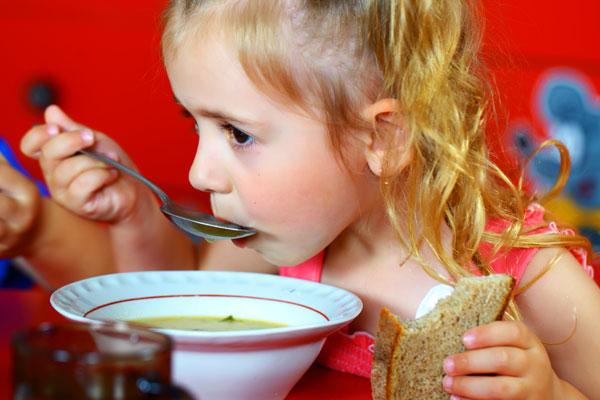 организация питания детей в детских учреждениях