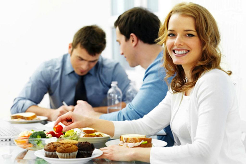 Корпоративное питание в офисе