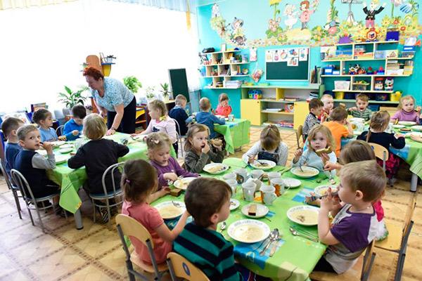 Организация питания детских учреждений