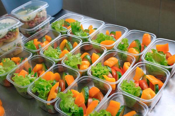 Услуги по организации питания