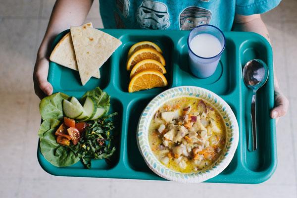 организация горячего питания учащихся