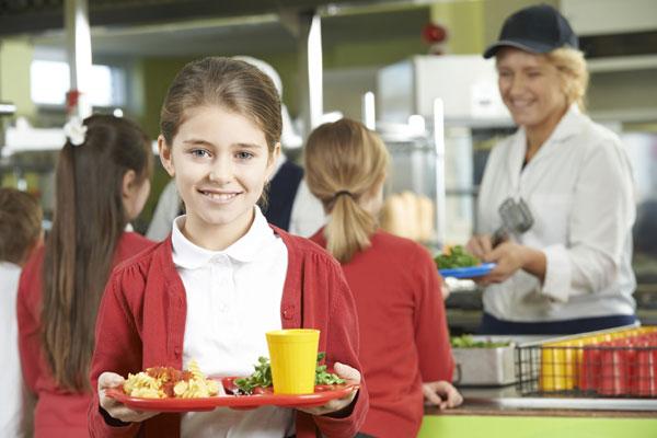 услуга по организации питания учащихся
